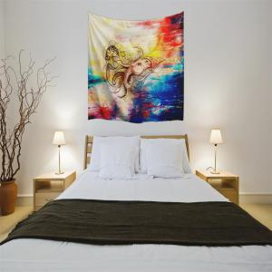 Dragon Horse 3D Digital Printing Home Wall Hanging Nature Art Fabric Tapestry for Bedroom Living Room Decorations -