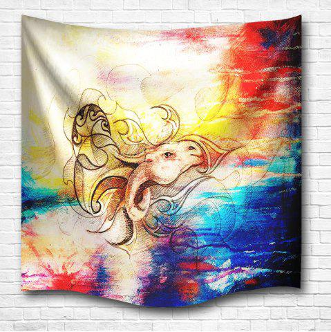 Shop Dragon Horse 3D Digital Printing Home Wall Hanging Nature Art Fabric Tapestry for Bedroom Living Room Decorations