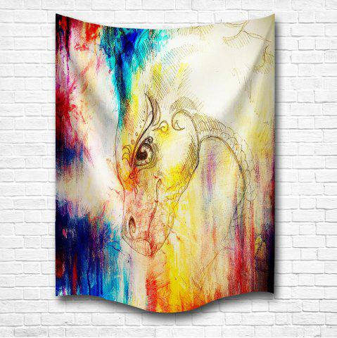 Discount The Dragon 3D Digital Printing Home Wall Hanging Nature Art Fabric Tapestry for Bedroom Living Room Decorations