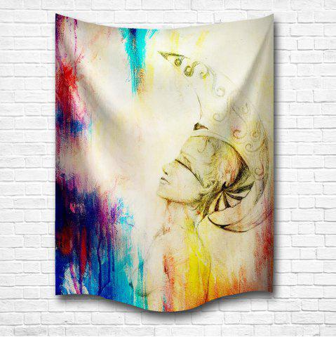 Cheap Blessing 3D Digital Printing Home Wall Hanging Nature Art Fabric Tapestry for Bedroom Living Room Decorations