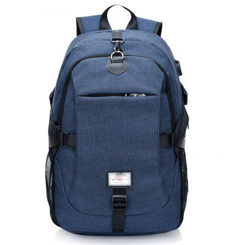 Trendy Canvas Shoulder Bag High-Capacity Computer Bag