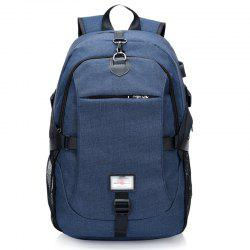 Canvas Shoulder Bag High-Capacity Computer Bag -