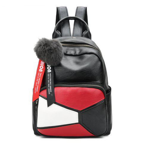 Fashion Backpack Wild Soft Leather High-Capacity Travel Bag