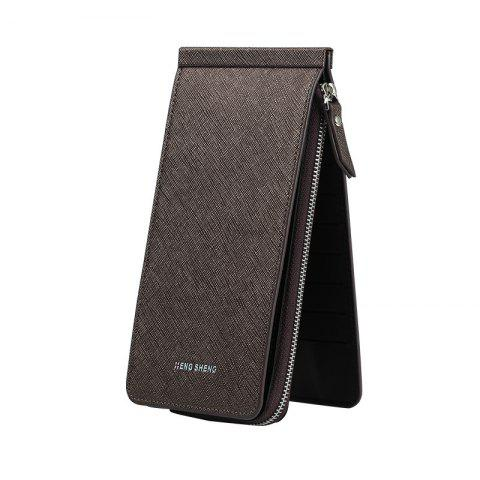 Fashion Hengsheng New Ladies Card Wallet Slot Men's Long Zipper Cell Phone Package