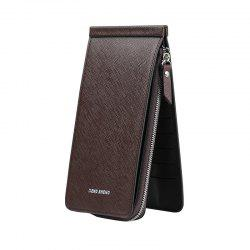 Hengsheng New Ladies Card Wallet Slot Men's Long Zipper Cell Phone Package -