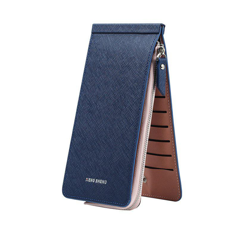 Unique Hengsheng New Ladies Card Wallet Slot Men's Long Zipper Cell Phone Package