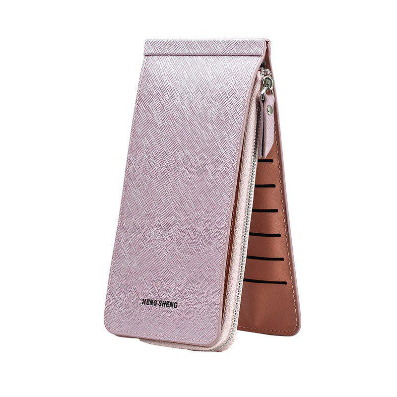 Outfits Hengsheng New Ladies Card Wallet Slot Men's Long Zipper Cell Phone Package