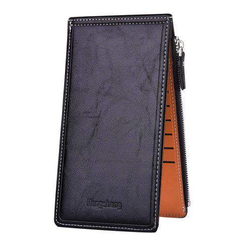 Latest Hengsheng Card Package Oil Wax Lady Wallet Bit Folder Thin Mobile Phone