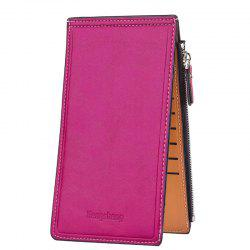 Hengsheng Card Package Oil Wax Lady Wallet Bit Folder Thin Mobile Phone -