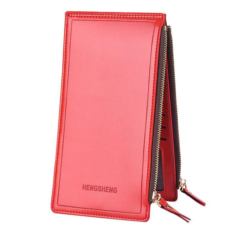 Best Lady Long Wallet Business Zipper Couple Phone Bag