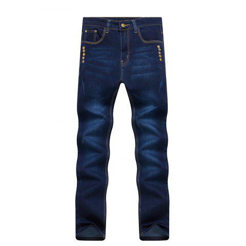 Store Spring Fashion Slim All-Match Color Jeans