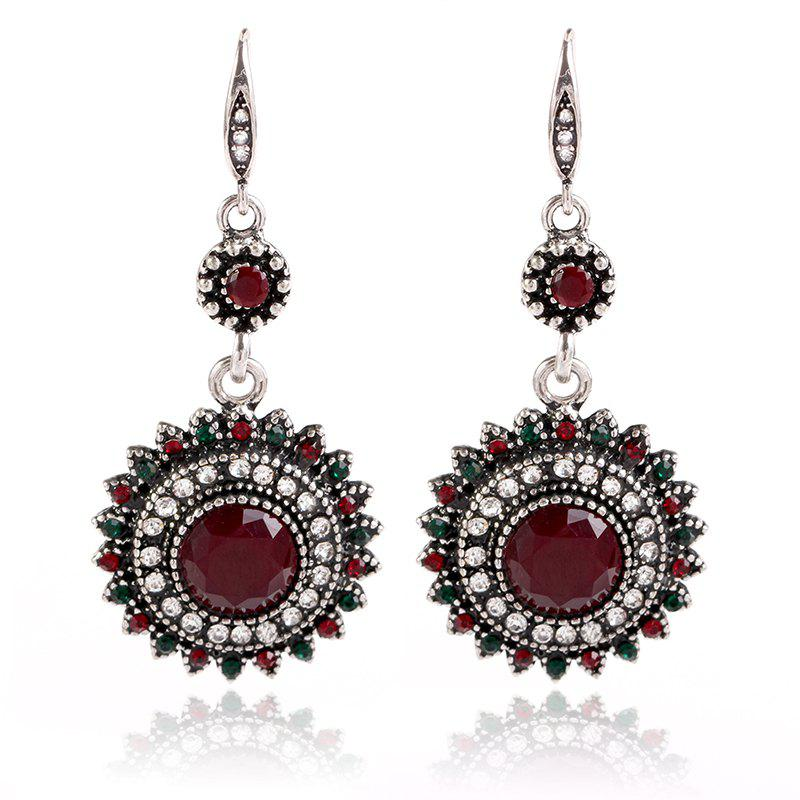 Outfits New Fashion Popular Sunflower Resin Earrings