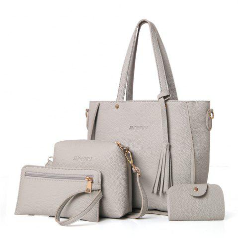 Fancy Women's Messenger Fashionable Four-Piece Ladies Shoulder Bag