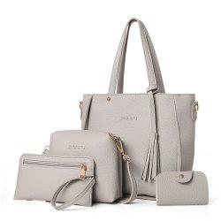 Women's Messenger Fashionable Four-Piece Ladies Shoulder Bag -