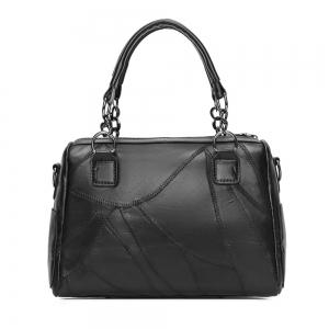 New Fashion Women Single Shoulder Slant Hand-held Spliced Willow Bag -