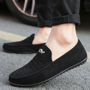 New Casual Lightweight Solid Color Peas Shoes -