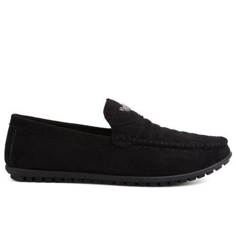 Trendy New Casual Lightweight Solid Color Peas Shoes