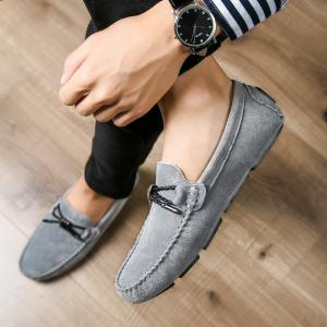 New Winter Casual Lightweight Solid Color Peas Shoes -