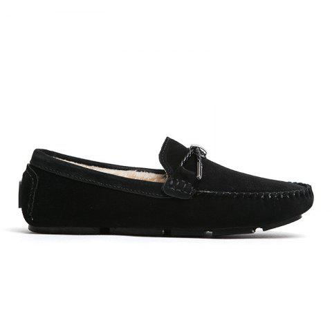Hot New Winter Casual Lightweight Solid Color Peas Shoes