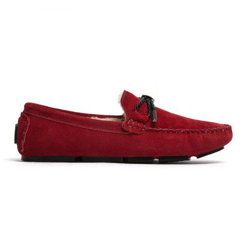 New New Winter Casual Lightweight Solid Color Peas Shoes