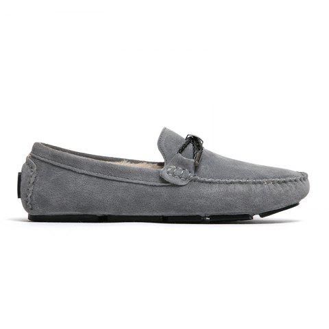 Trendy New Winter Casual Lightweight Solid Color Peas Shoes
