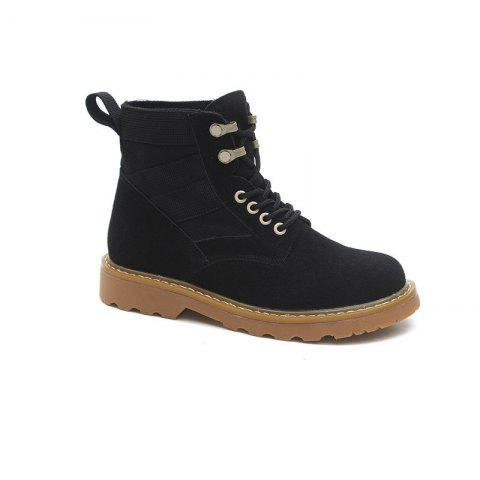 Chic New Spring and Autumn High-Top Casual Cotton Boots