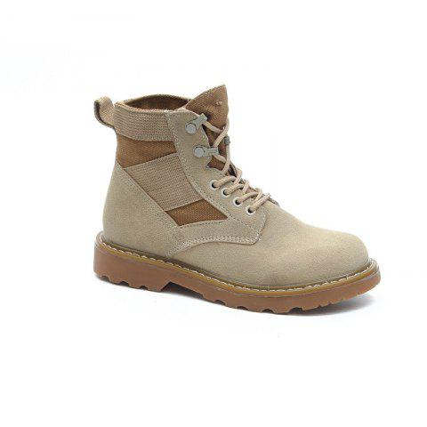 Shop New Spring and Autumn High-Top Casual Cotton Boots