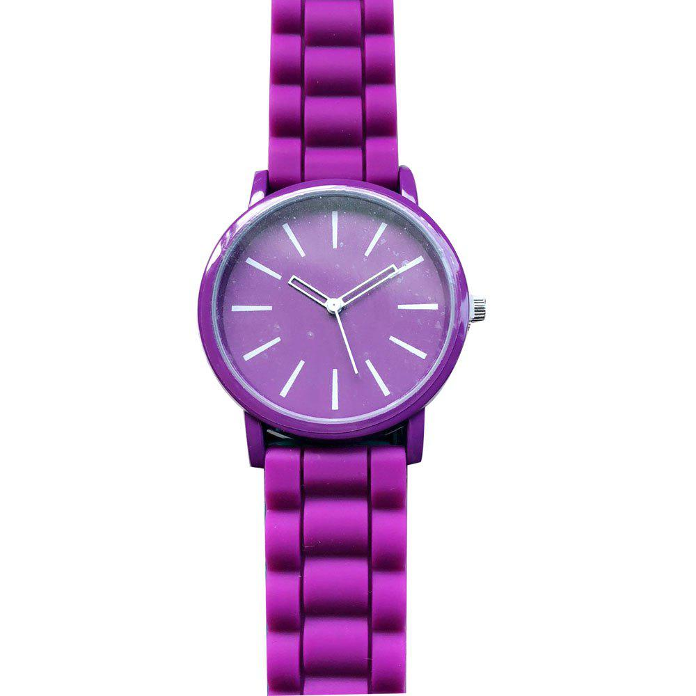 Unique Stylish Silicone Band Women Watch