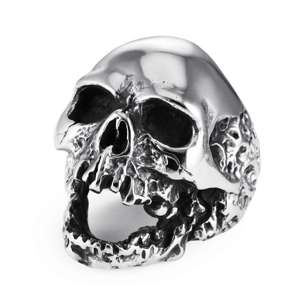 Latest Europe and The United States Punk head Kitts Ring