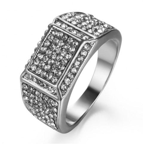 Fashion Armed with Luxurious Arm Full of Soil Ho Men Diamond Ring
