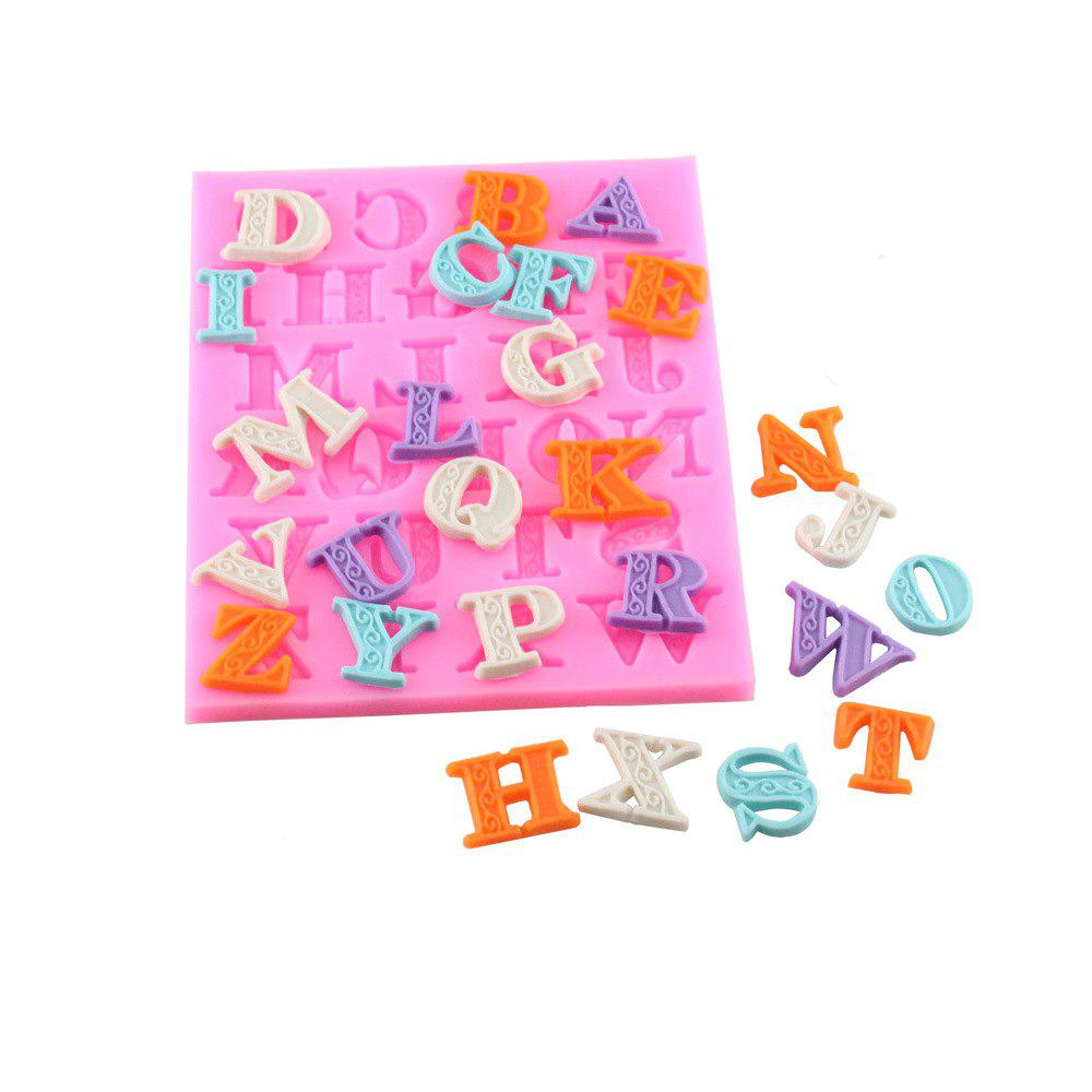 Outfits Letters Frosting Silicone Dry Pace Mold