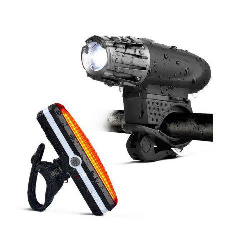 Unique Cycling Light 4 Model LED 200 Lumen USB Rechargeable Safety Flashlight Lamp Lights Waterproof Taillight Bicycle Accessor