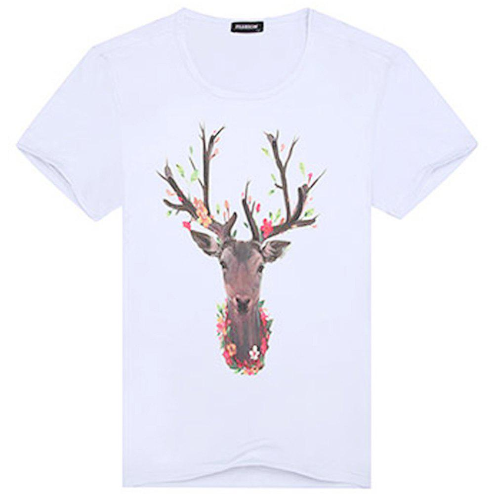 Hot Fashionable Short Sleeve Handsome T-Shirt
