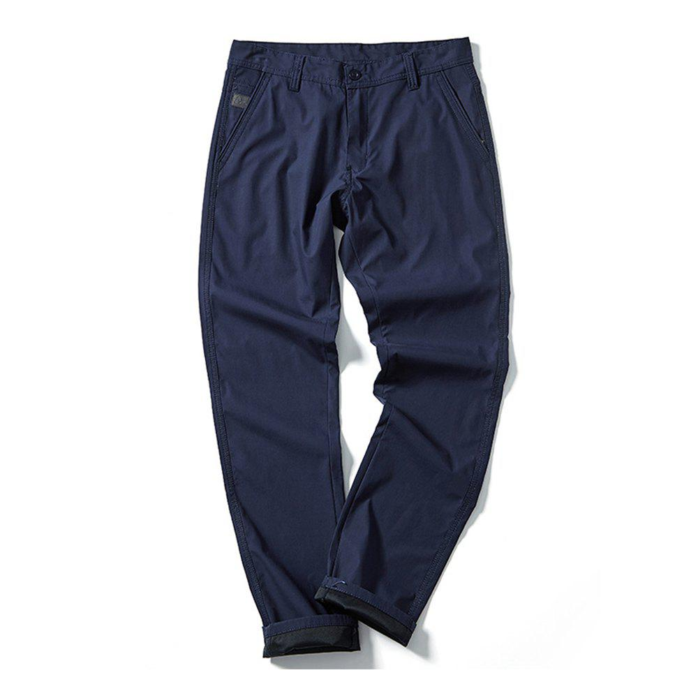 New Young Solid-Colored Casual Pants