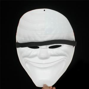Halloween Horror Mask Payday Mask Plastic  Old Head Clown Flag Masquerade Supplies -