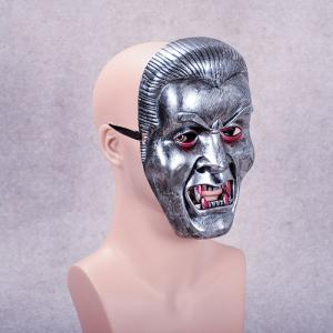 Vampire Face Mask Big Devil Shape Gray Plastic Masks Halloween Intimidation Dracula Party Decorating -
