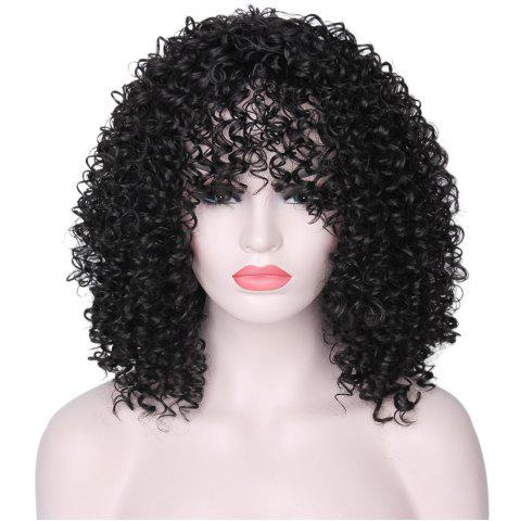 Trendy CHICSHE Synthetic Afro Kinky Curly Wigs for Black Women African American Heat Resistant Long Hair