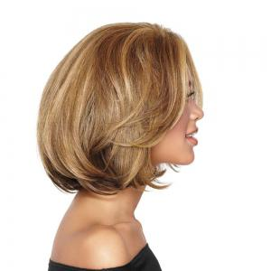 Ladies Short Fluffy Curly Wigs -