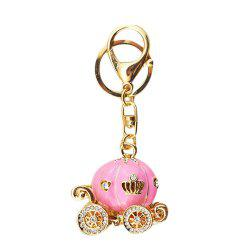 Pumpkin Car Male and Female Key Chain -