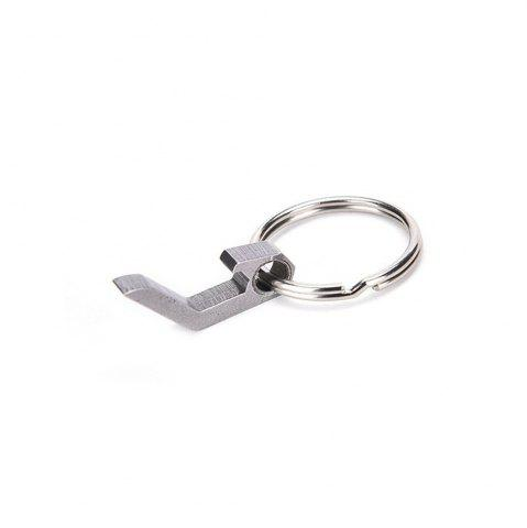 Online Can Opener Stainless Steel Multi-Function Key Ring