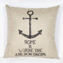 Nautical Series of Printed Cotton Pillowcase -