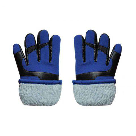 Online Autumn and Winter Ski Warm Cashmere Thickened Outdoor Cycling Gloves for Men and Women To Prevent Cold Wind