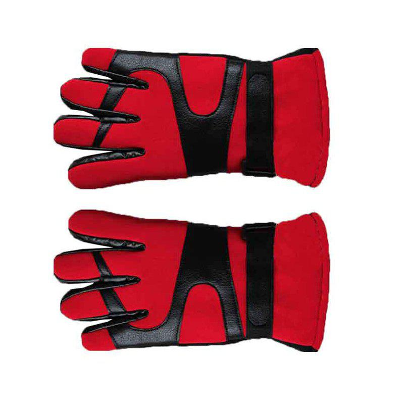 New Autumn and Winter Ski Warm Cashmere Thickened Outdoor Cycling Gloves for Men and Women To Prevent Cold Wind