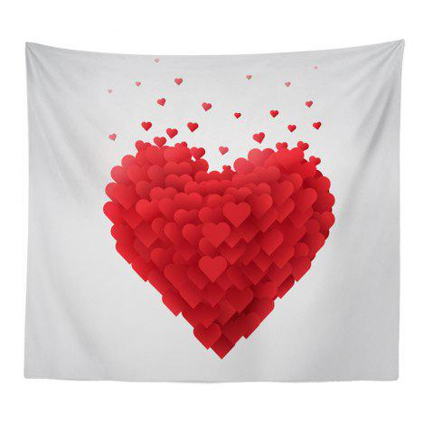 Buy Hand-Made Hd Digital Printing Wall Decoration Tapestry Valentine'S Day Decoration