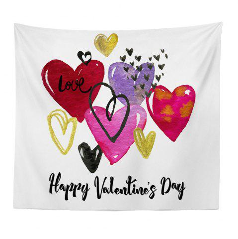 Latest Hand-Made Hd Digital Printing Wall Decoration Tapestry Valentine'S Day Decoration