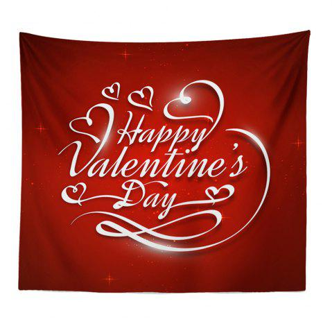 Unique Hand-Made Hd Digital Printing Wall Decoration Tapestry Valentine'S Day Decoration