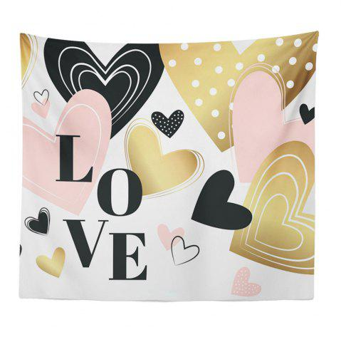 Best Hand-Made Hd Digital Printing Wall Decoration Tapestry Valentine'S Day Decoration