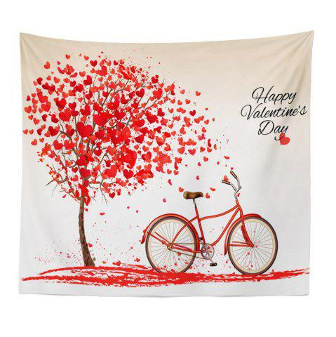 New Hand-Made Hd Digital Printing Wall Decoration Tapestry Valentine'S Day Decoration