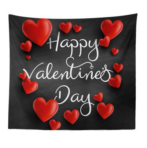 Online Hand-Made Hd Digital Printing Wall Decoration Tapestry Valentine'S Day Decoration
