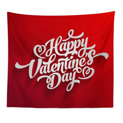 Sale Hand-Made Hd Digital Printing Wall Decoration Tapestry Valentine'S Day Decoration